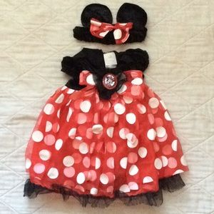 Minnie Mouse Costume for 12-18 month old girl